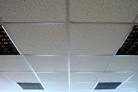 limpieza de falsos techos