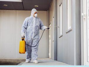 Limpieza de residencias geriátricas en época de COVID-19