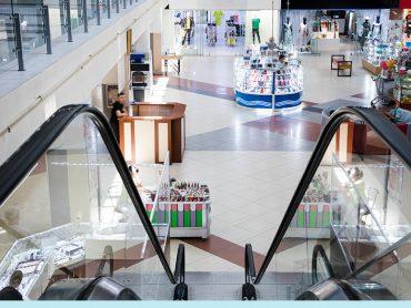 limpieza y desinfección centro comercial