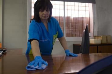 Servicios de limpieza para oficinas