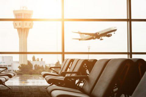 Limpieza de un aeropuerto