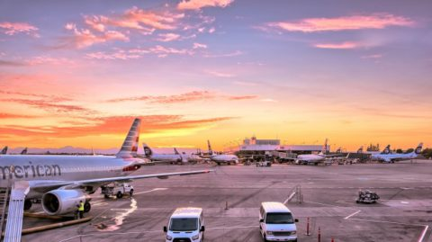 La limpieza en las empresas aeroportuarias