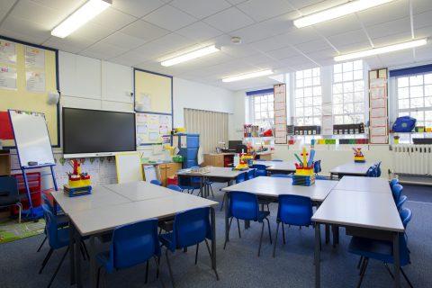 Mantenimiento y limpieza de una escuela