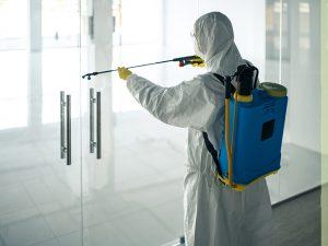 Plan de limpieza y desinfección en centros comerciales