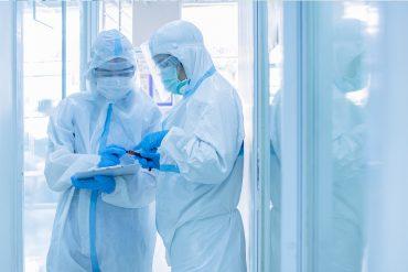 limpieza y desinfección en zona blanca