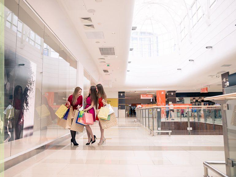 mantenimiento del centro comercial