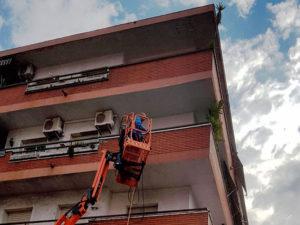 ¿Qué entendemos por servicios de limpieza vertical?