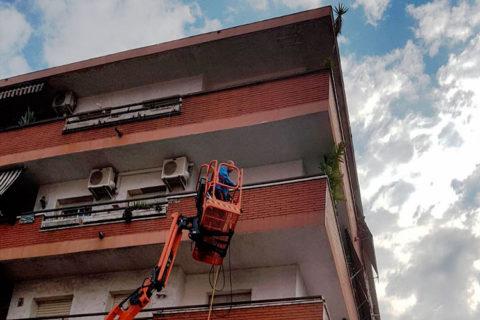 limpieza vertical